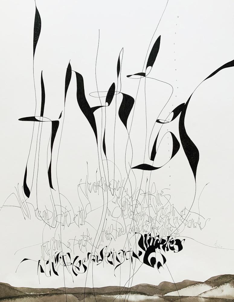 Anja Lüdtke - Wintertrees 1